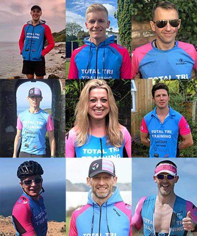 Triathlon coaching group at TTT